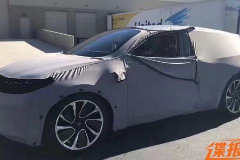 拜腾首款电动SUV谍照 7日北美CES展首发