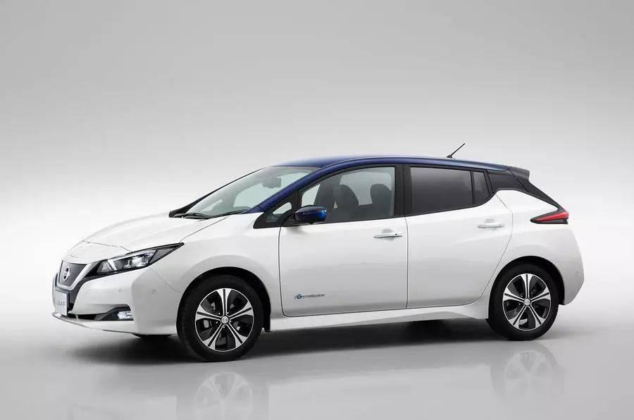 新款日产聆风英国起售价约19.3万,全球最好卖的纯电动车即将来华