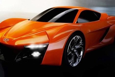 2018 CES:现代将打造双座混合动力跑车