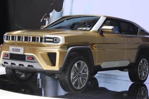 北汽巅峰之作,全新SUV轴距2米9,4座设计,帅到炸,上市必火!