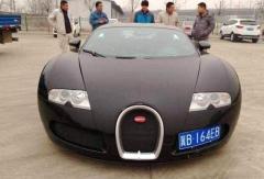 中国首辆布加迪威航现身,光是车牌就价值百万