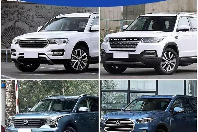 全部2.0T!目前中国品牌里最抢眼的4台7大座SUV!