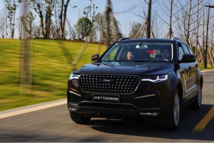 众泰首推原创SUV,搭1.8T动力,豪华内饰,上市7个月销量近6万!
