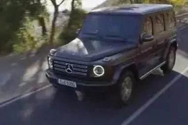 视频丨全新梅赛德斯-奔驰G级越野车