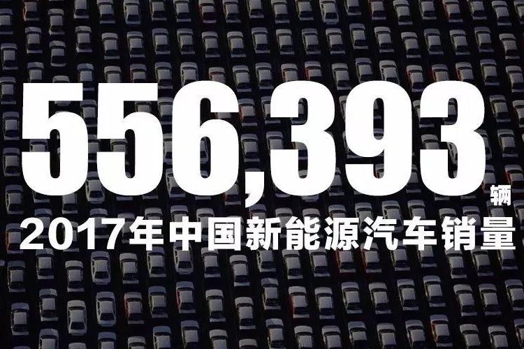 2017年全国新能源汽车销量超55万辆,谁是最大赢家?