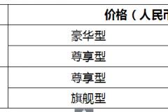 售价10.58 -15.68万元 ,汉腾X7S新增2.0T车型