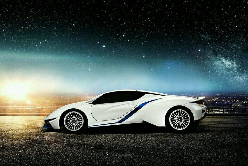 百公里加速3秒,扭矩1050牛米,这款国产纯电动跑车炫酷至极