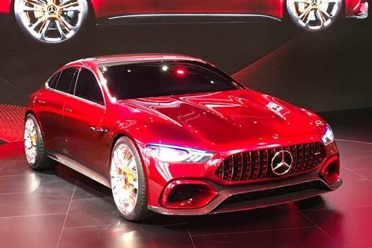 2018北美车展全新AMG GT四门版来了 会比两门版慢吗?