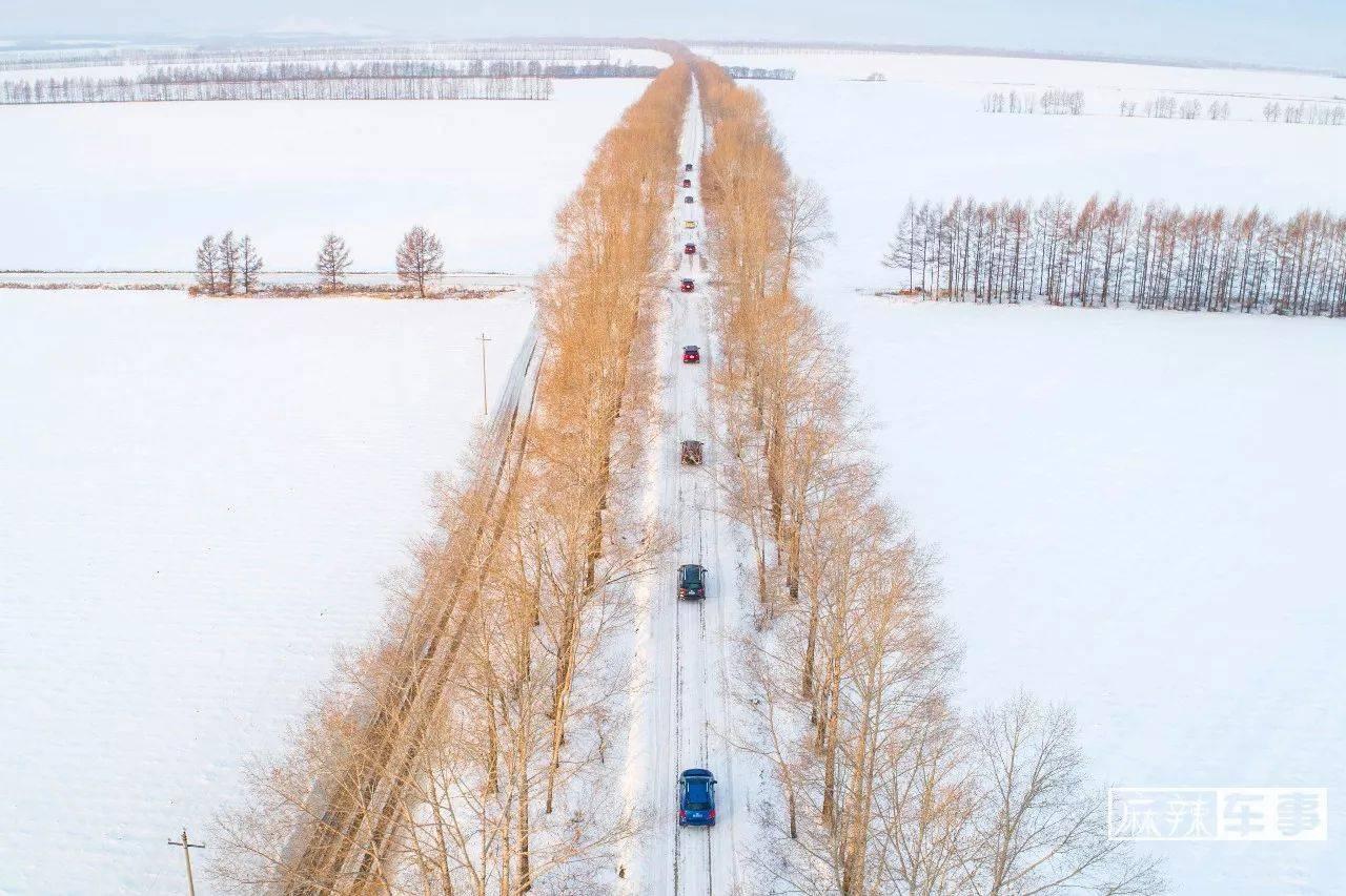 在黑河零下35℃的冰天雪地里,雪佛兰全功能车系无所畏惧 | 试驾