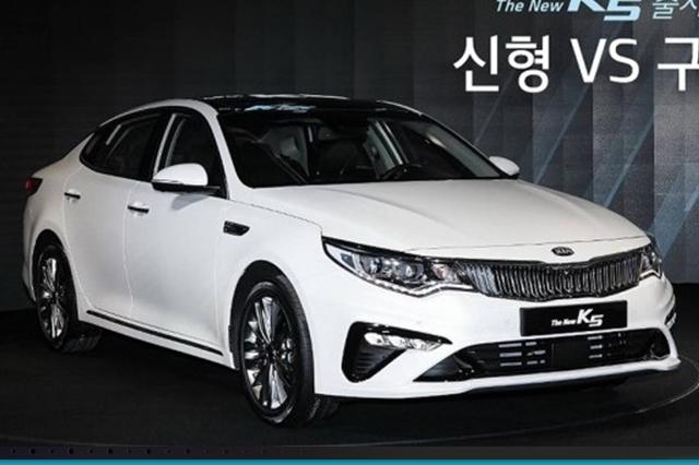 起亚K5面对颓势不气馁 改款车型正面应对中国车市
