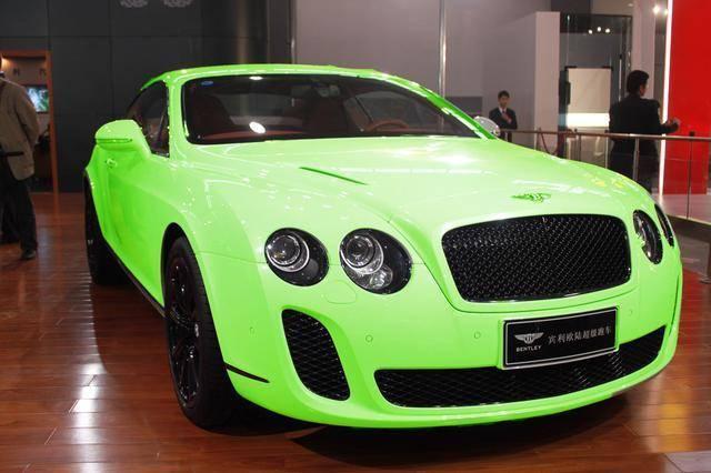 """贾乃亮恨透""""绿帽""""宾利,但这些车型偏偏绿了才有""""味道"""""""