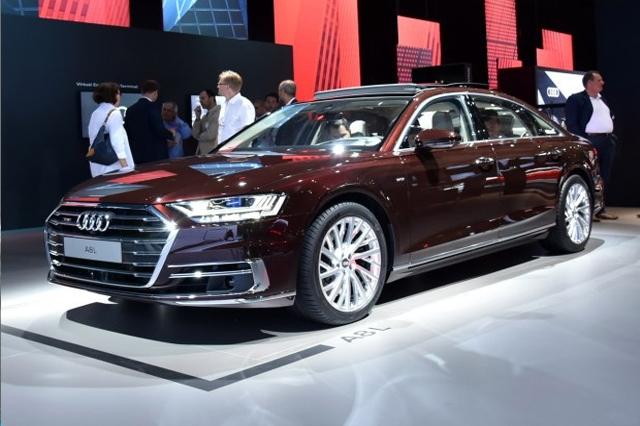 L3级自动驾驶马上要来了!全新A8L国内首发