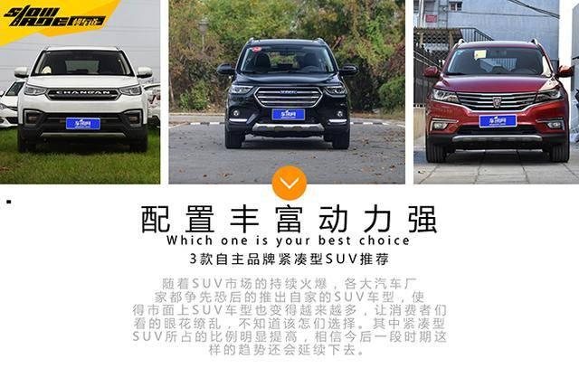 买车回家过年 这三款自主SUV配置丰富动力强劲