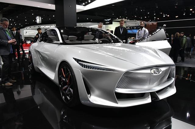 跑过思域再说!英菲尼迪概念车和电动车计划发布
