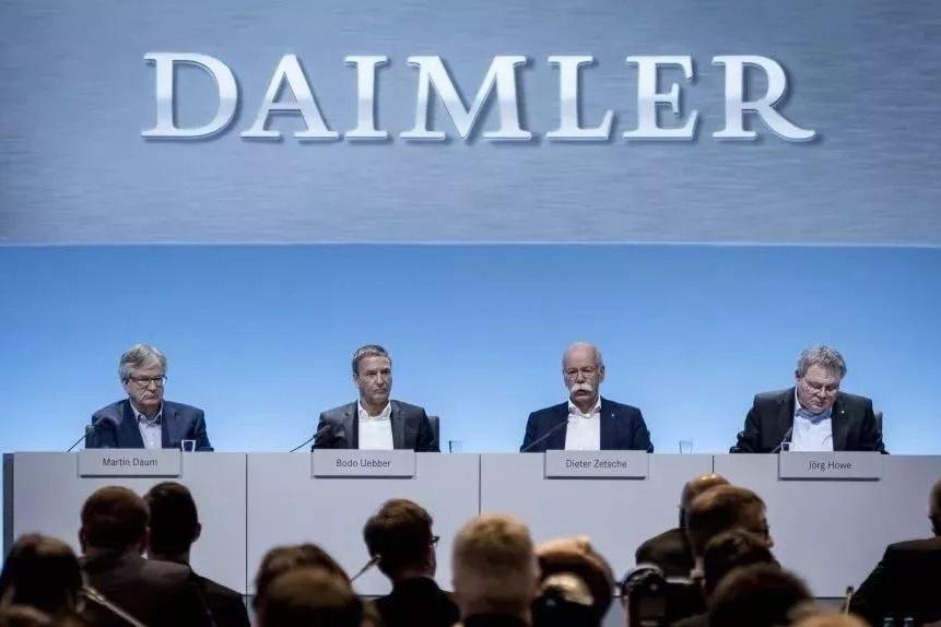 桑之未:戴姆勒净利润创新高  继续看好中国增长对全球的贡献