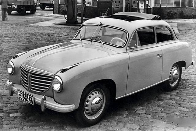 盘点世界汽车史上的那些第一次(上世纪40~50年代)