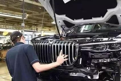 宝马X7将2018洛杉矶车展首发 全尺寸巨兽.