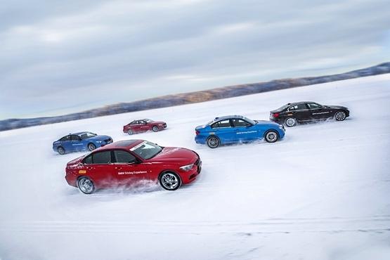 BMW 3系探寻冰上极限