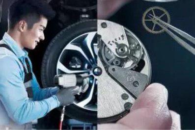 BMW售后 行走在车轮