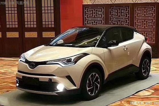 丰田C-HR、奕泽双车