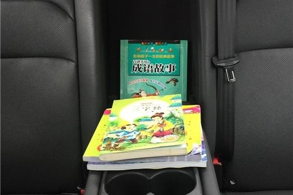 车中为孩子搭建阅读