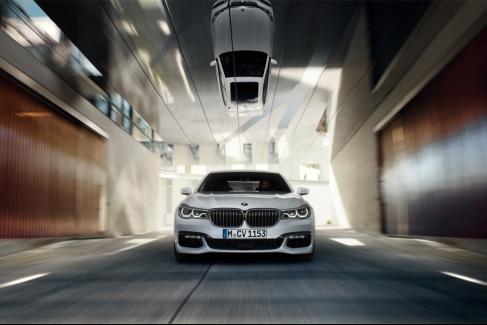 高品质BMW 7系坐拥时