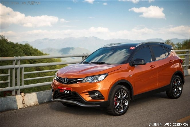 自主小型SUV—东南DX