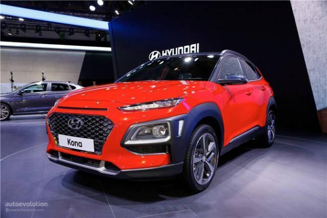 2.0T前驱性能SUV 现代Kona高性能版本或定名Kona-N