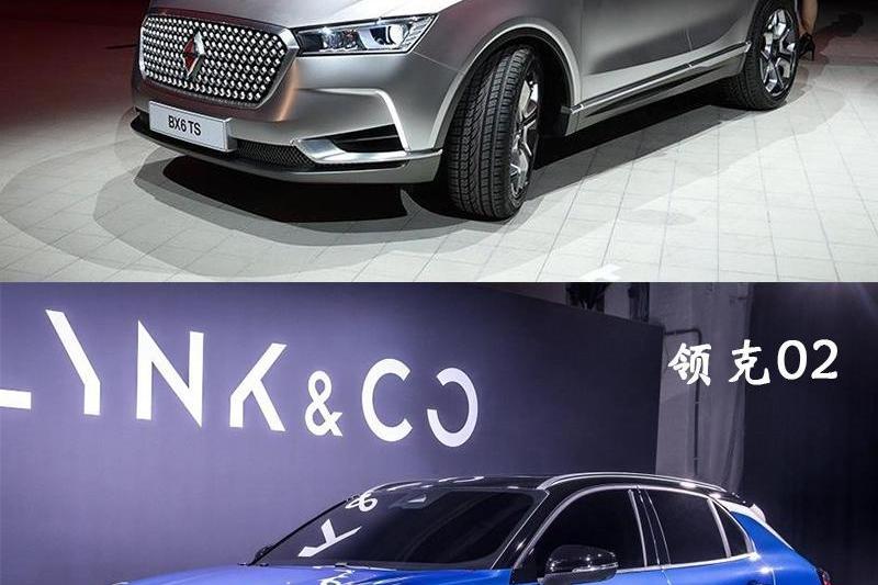 20万元级高颜值轿跑SUV,领克02和宝沃BX6你选谁?