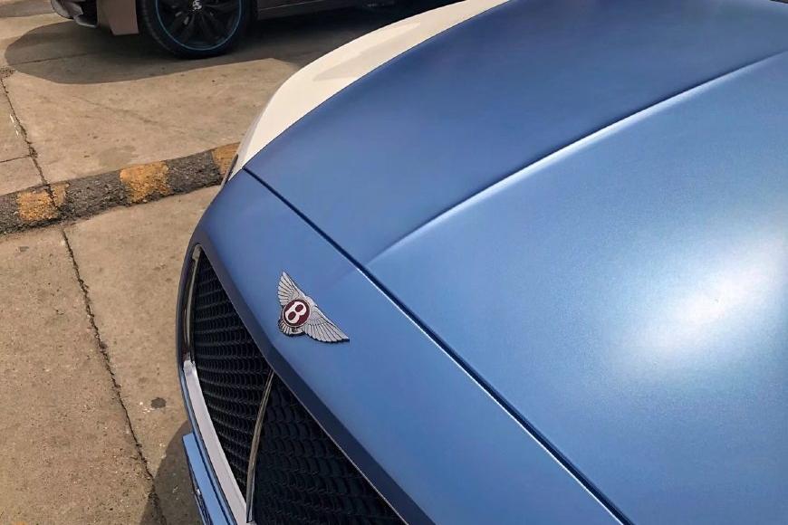 时尚动感新体验 宾利欧陆GT车身改色