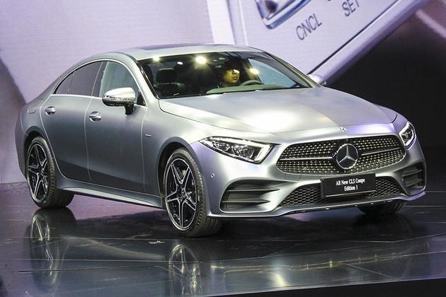 奔驰全新CLS正式上市 售80.88-83.88万