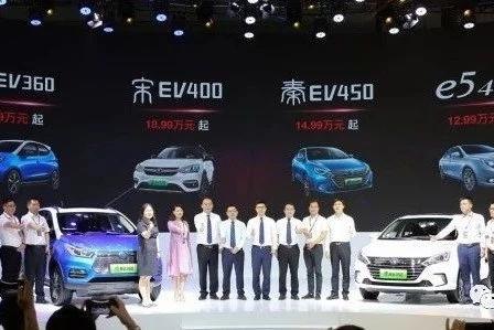 """比亚迪组建""""纯电矩阵""""大秀深港澳车展 元EV360深圳上市"""