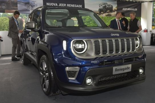 Jeep新款自由侠正式亮相 细节处得到调整