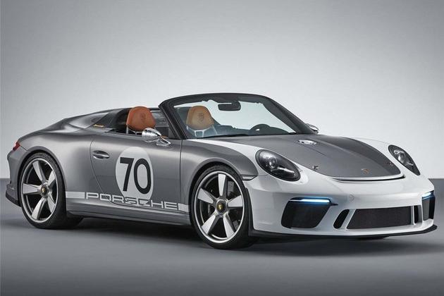 保时捷911 Speedster概念车 2019年量产