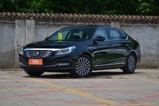 传祺GA8昆明购车优惠 现金让利0.8万元
