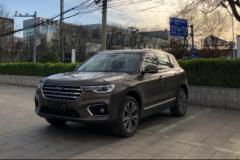 中大型SUV颜值担当――2018款哈弗H7