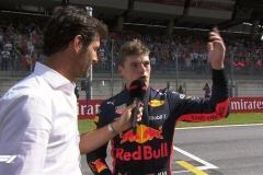 F1奥地利站 维斯塔潘:比赛比看上去要困难得多