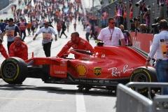 F1奥地利站 轮胎管理造就一场精彩的比赛