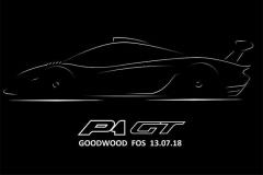 迈凯伦发布P1 GT预告图 7月13日亮相