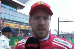 F1英国站维特尔:在直道损失时间很开心拿到第二