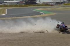 F1英国站FP3:汉密尔顿最快 哈特利严重撞车