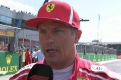 F1英国站莱科宁:不满意排位赛成绩