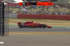 F1英国站焦点分析:莱科宁被罚十秒 冤么?
