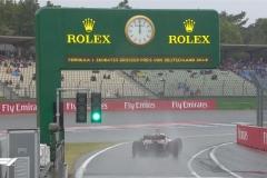 F1德国站FP3:雨水降临霍根海姆 索伯最快