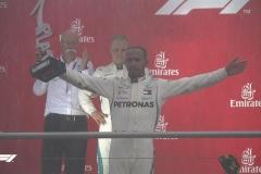 F1德国站汉密尔顿奇迹夺冠 维特尔雨中撞车