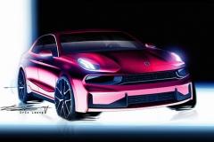 领克03设计图发布 时尚派轿车/年内上市