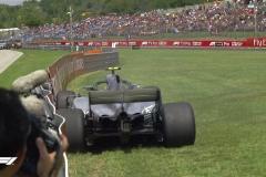 F1匈牙利站三练:维特尔最快 博塔斯失控撞墙