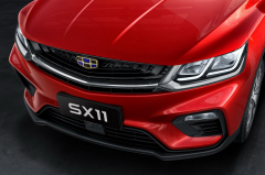 吉利SX11外观官图发布 设计更加年轻化