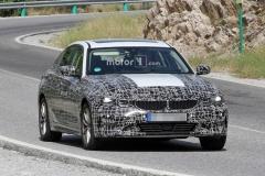 BMW 3系电动版谍照曝光 或于年内正式发布