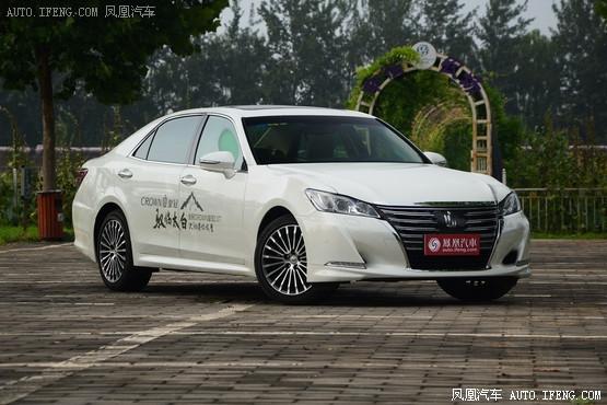 丰田皇冠长沙新低价 现车优惠2.5万元